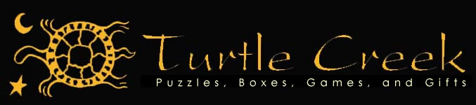 Turtle Creek: Handmade Puzzle Boxes